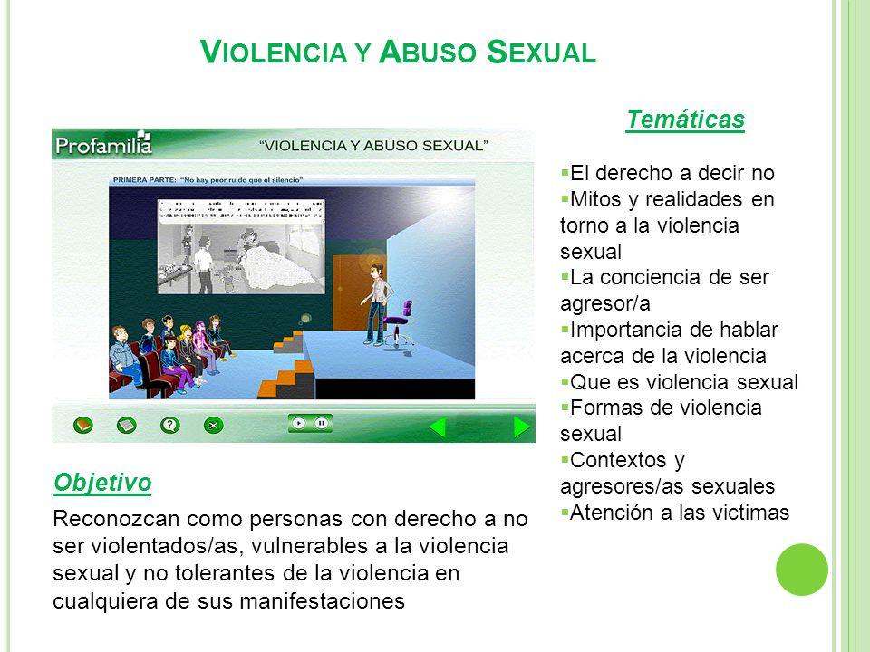 Violencia y Abuso Sexual