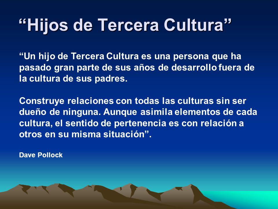 Hijos de Tercera Cultura