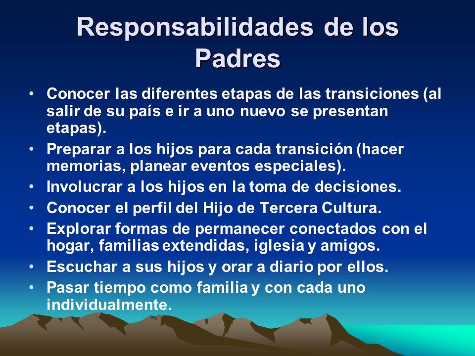 Responsabilidades de los Padres
