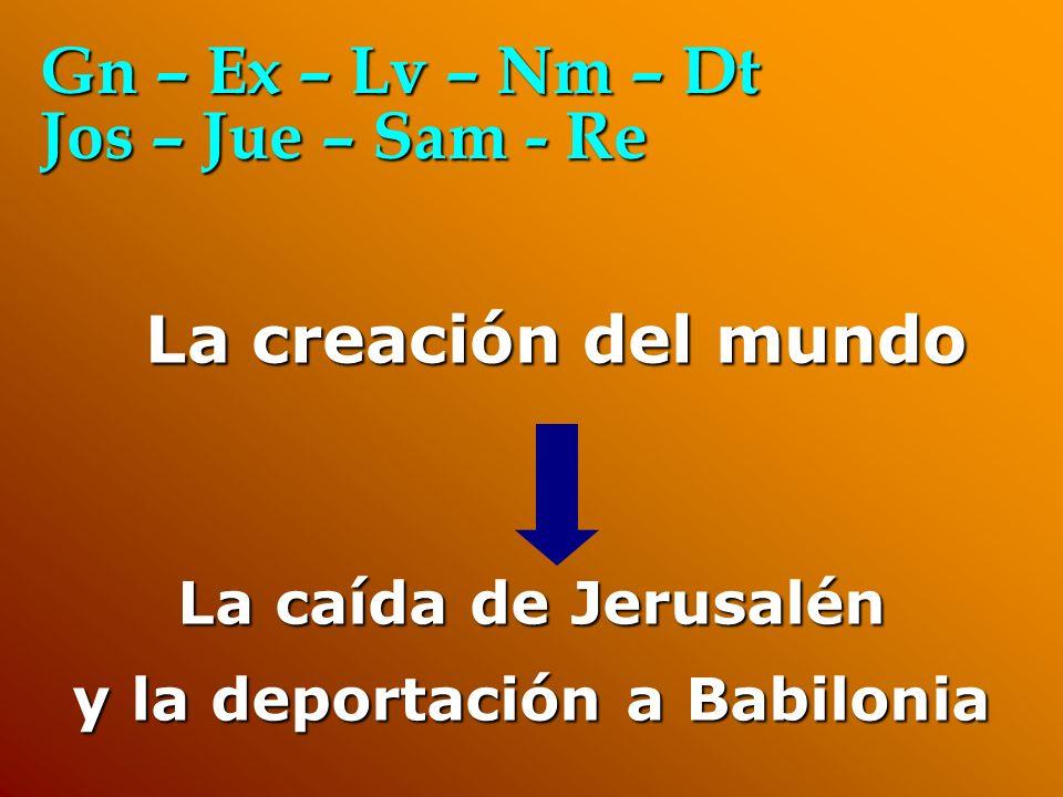 y la deportación a Babilonia