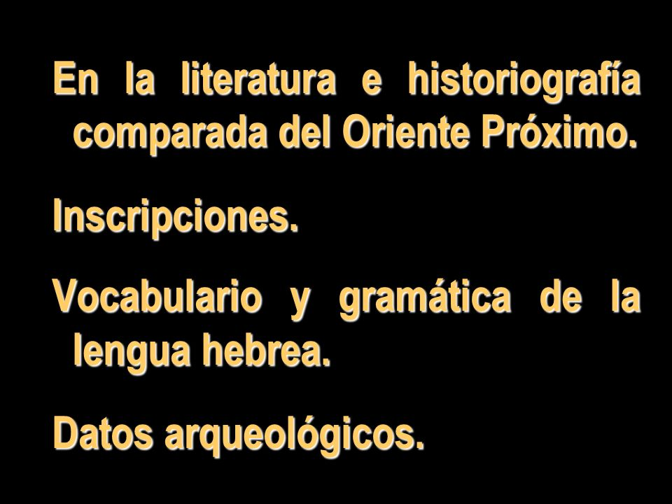 En la literatura e historiografía comparada del Oriente Próximo.