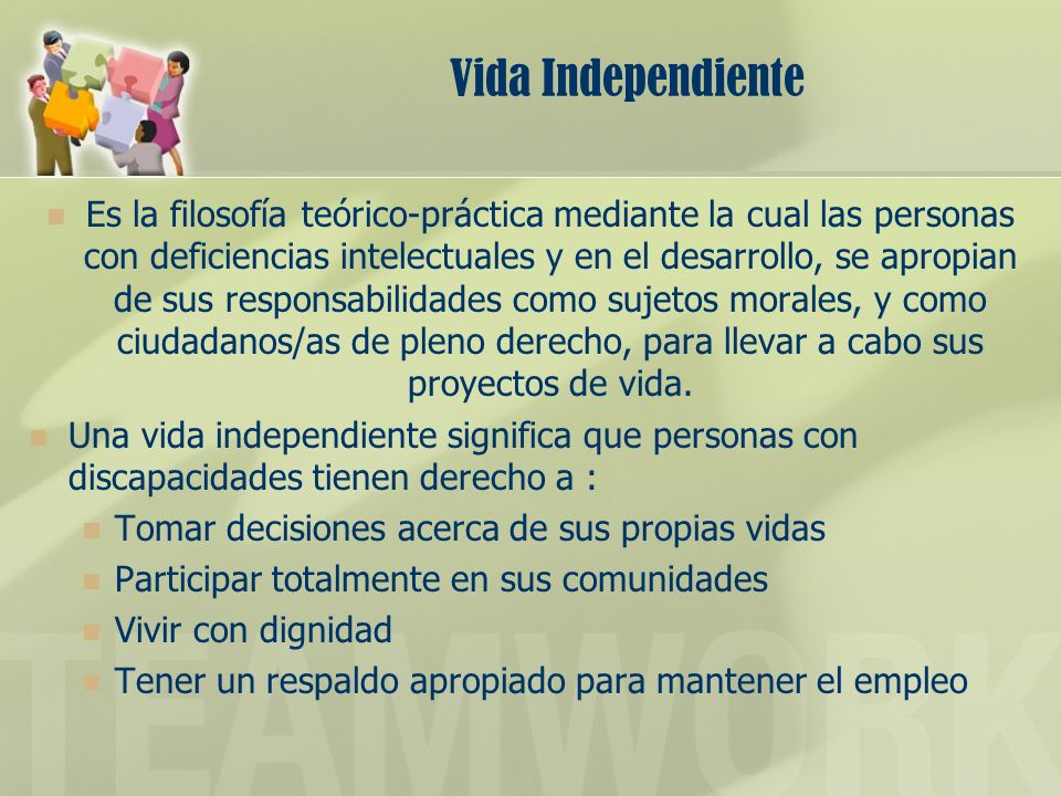 Vida Independiente