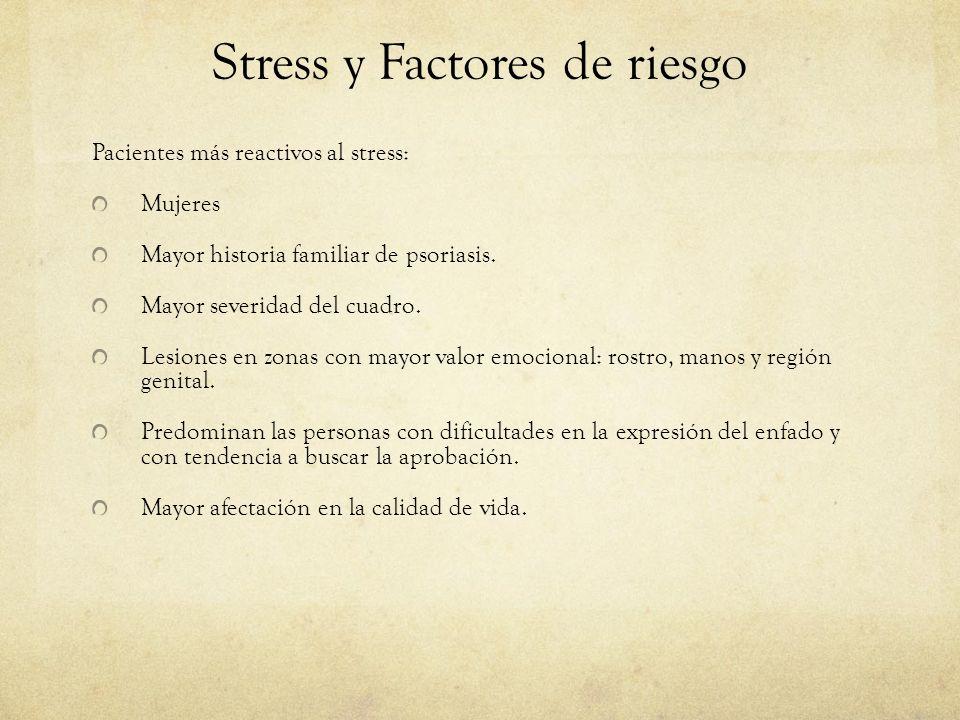 Stress y Factores de riesgo