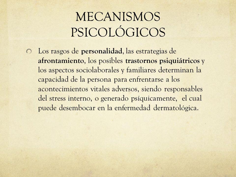 MECANISMOS PSICOLÓGICOS