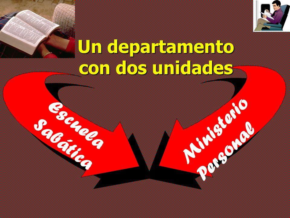 Un departamento con dos unidades Ministerio Personal Escuela Sabática