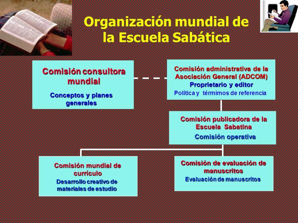 Organización mundial de la Escuela Sabática