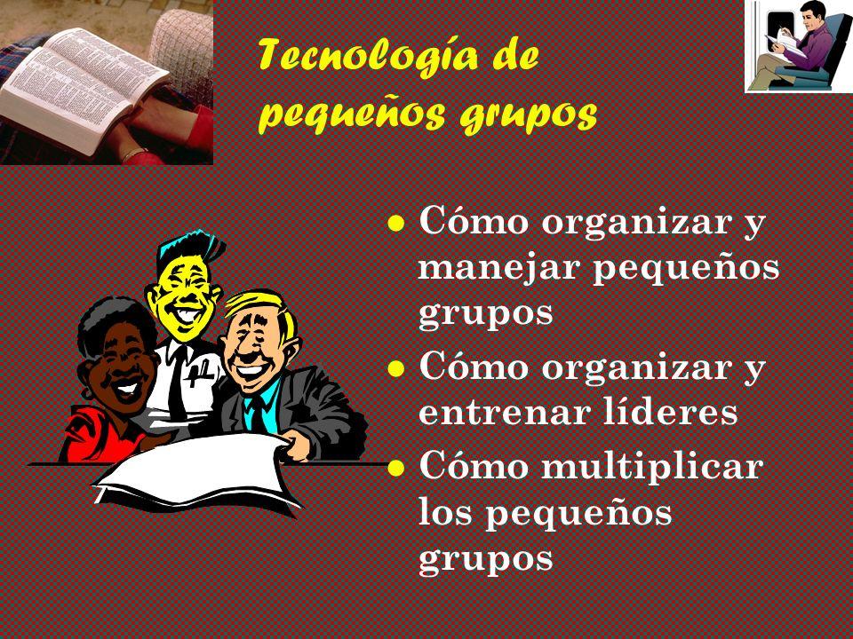 Tecnología de pequeños grupos