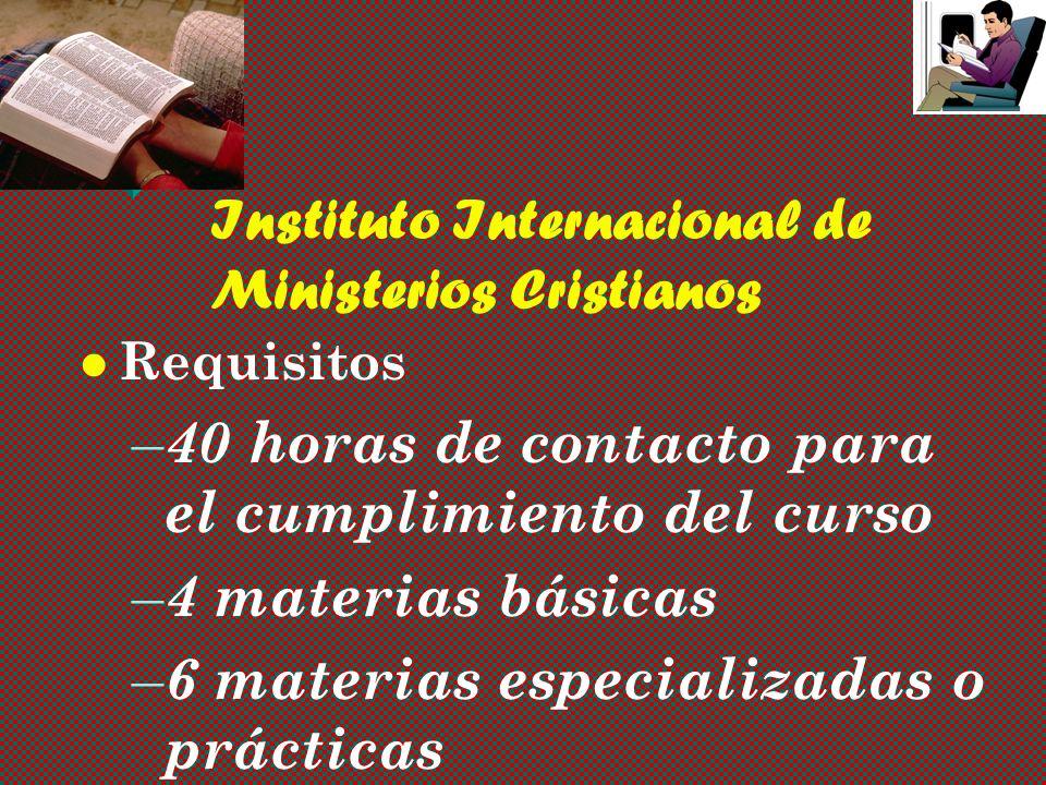 Instituto Internacional de Ministerios Cristianos