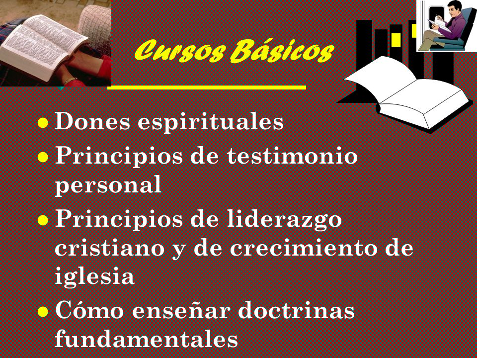 Cursos Básicos Dones espirituales Principios de testimonio personal