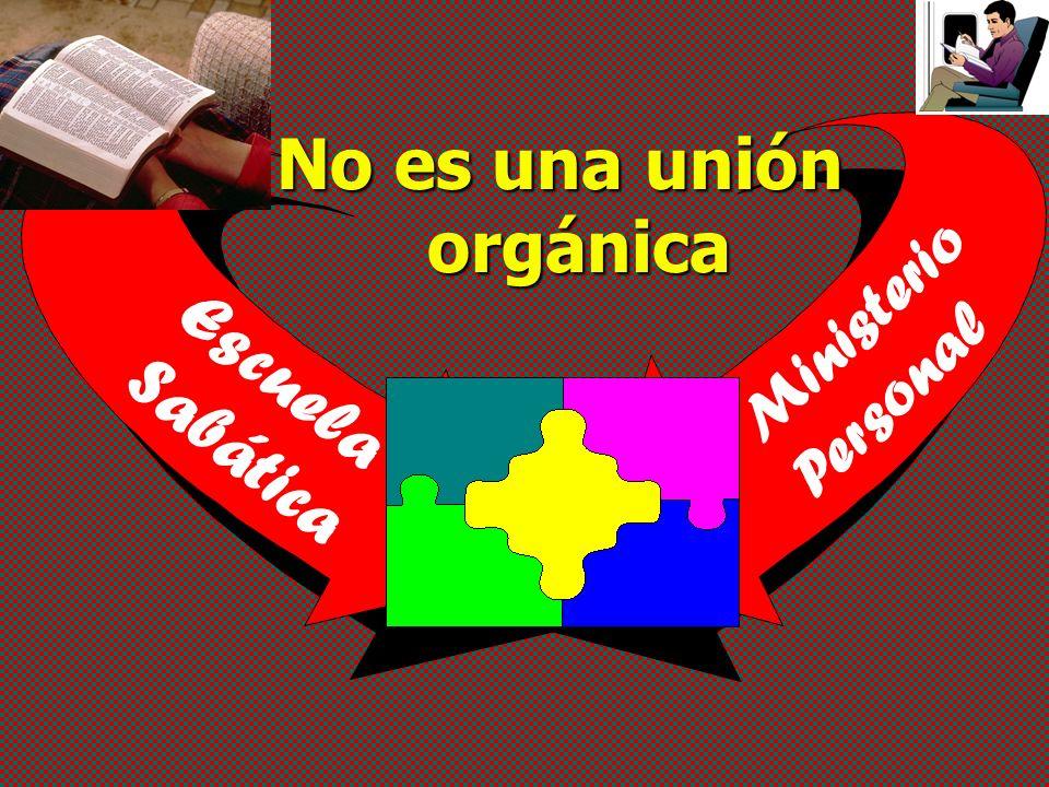 No es una unión orgánica