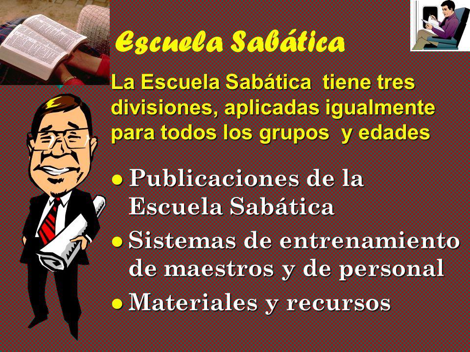 Escuela Sabática Publicaciones de la Escuela Sabática