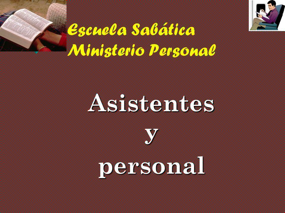 Escuela Sabática Ministerio Personal