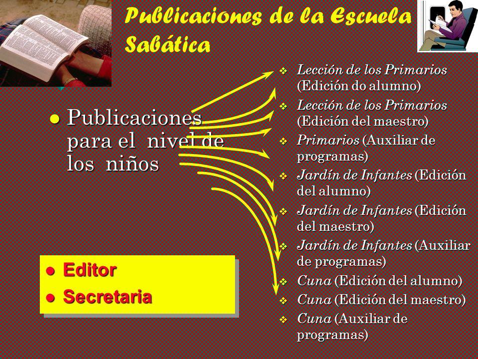 Publicaciones de la Escuela Sabática