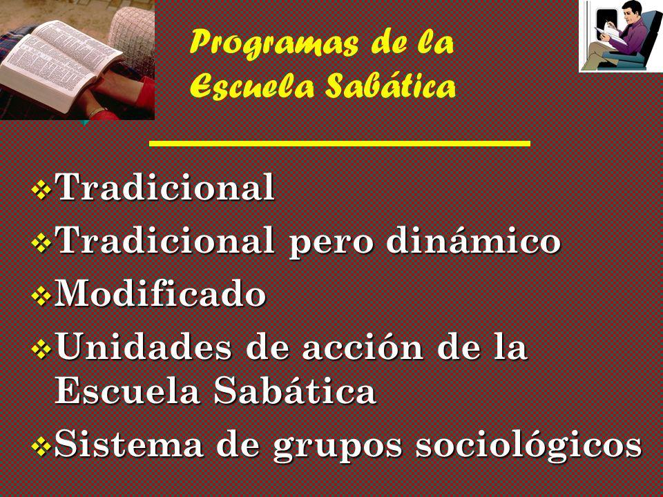 Programas de la Escuela Sabática