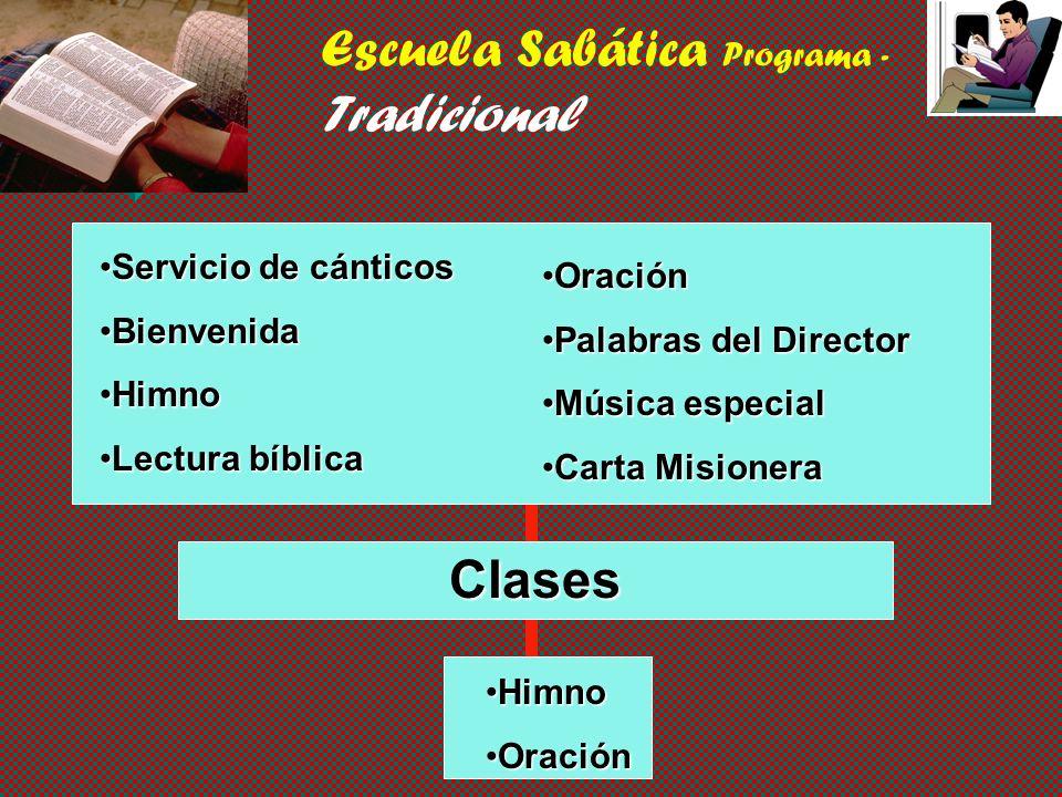 Escuela Sabática Programa - Tradicional