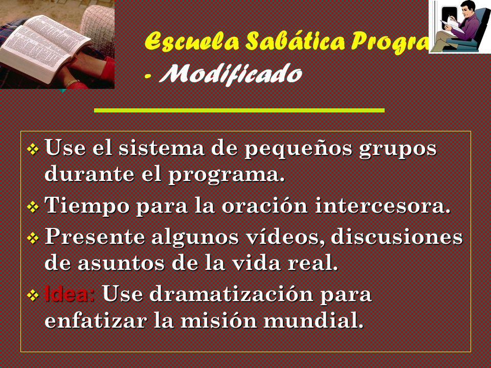 Escuela Sabática Programa - Modificado