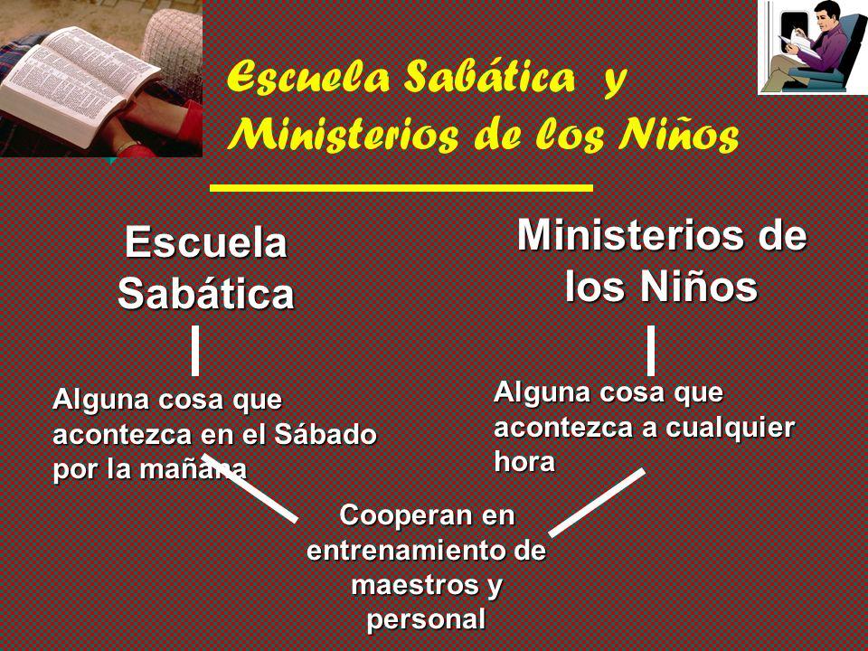 Escuela Sabática y Ministerios de los Niños