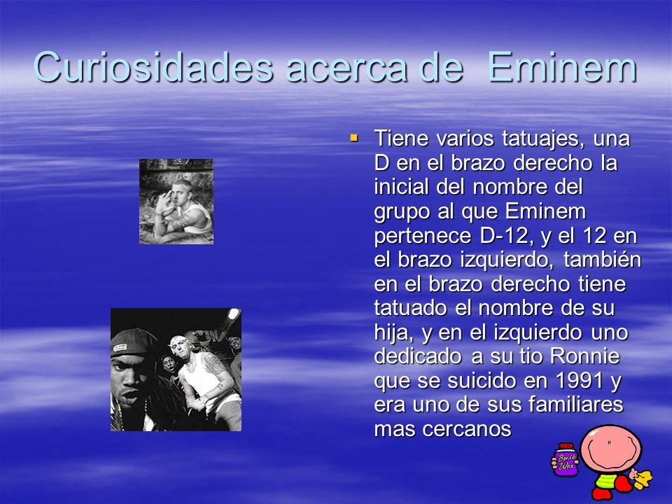 Curiosidades acerca de Eminem