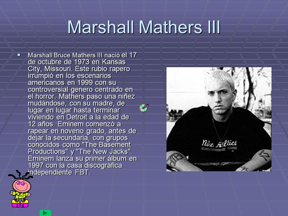 Marshall Mathers III