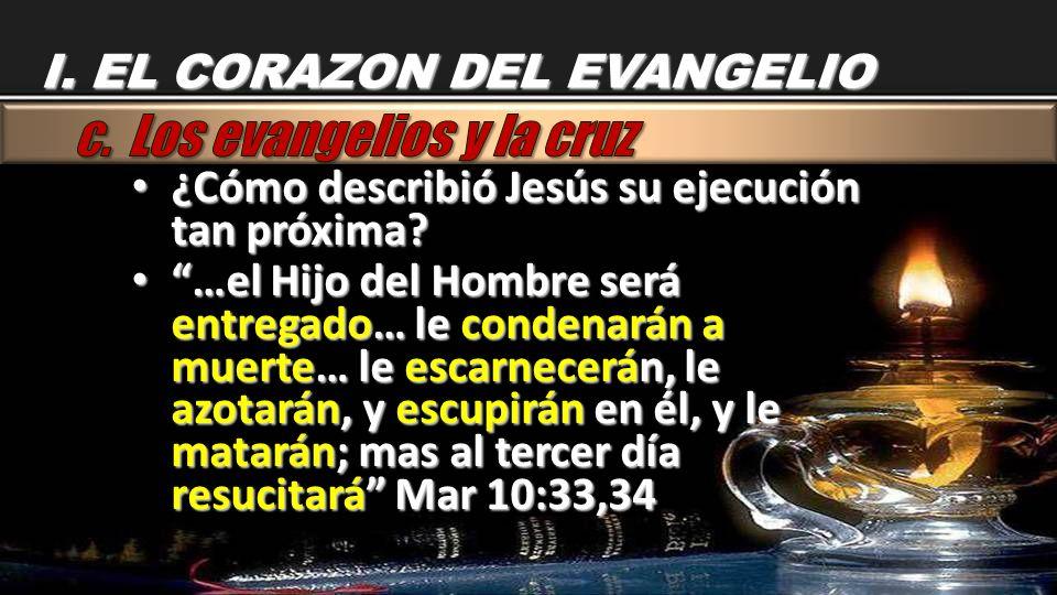 c. Los evangelios y la cruz