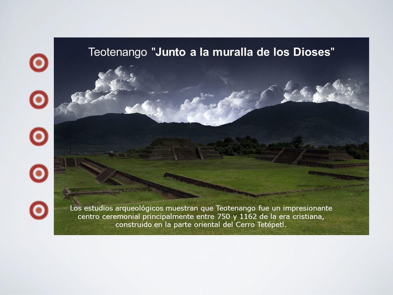 Teotenango Junto a la muralla de los Dioses