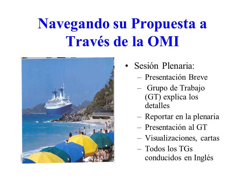 Navegando su Propuesta a Través de la OMI
