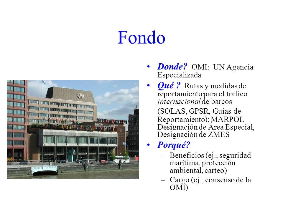 Fondo Donde OMI: UN Agencia Especializada