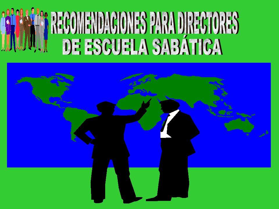 RECOMENDACIONES PARA DIRECTORES