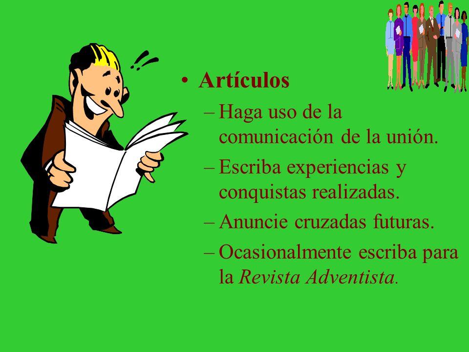 Artículos Haga uso de la comunicación de la unión.