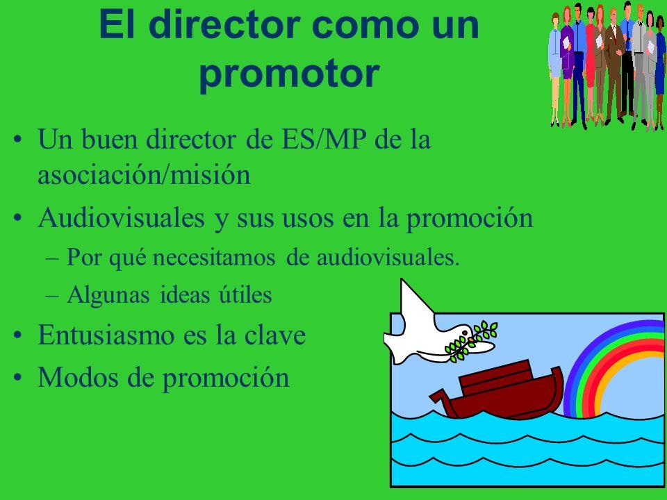 El director como un promotor