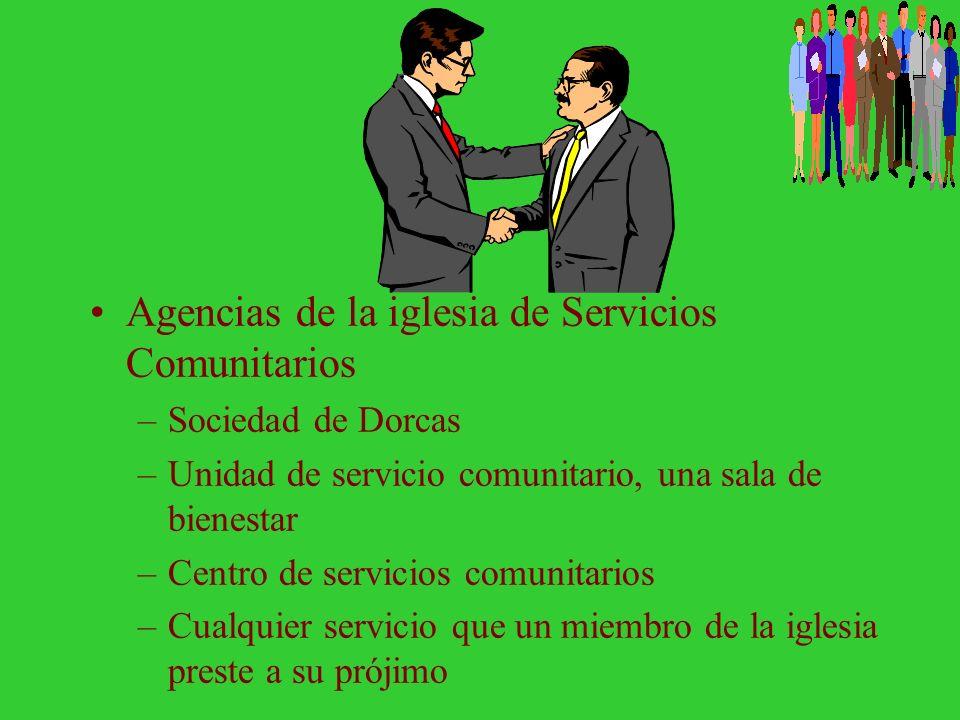 Agencias de la iglesia de Servicios Comunitarios