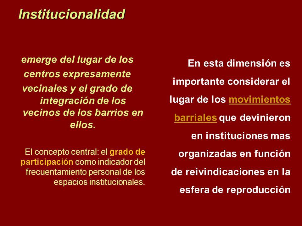 Institucionalidad emerge del lugar de los centros expresamente
