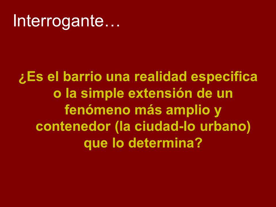 Interrogante…