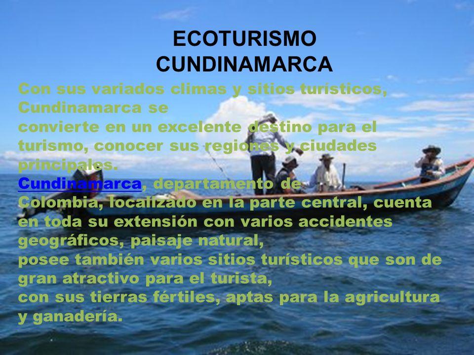 ECOTURISMO CUNDINAMARCA