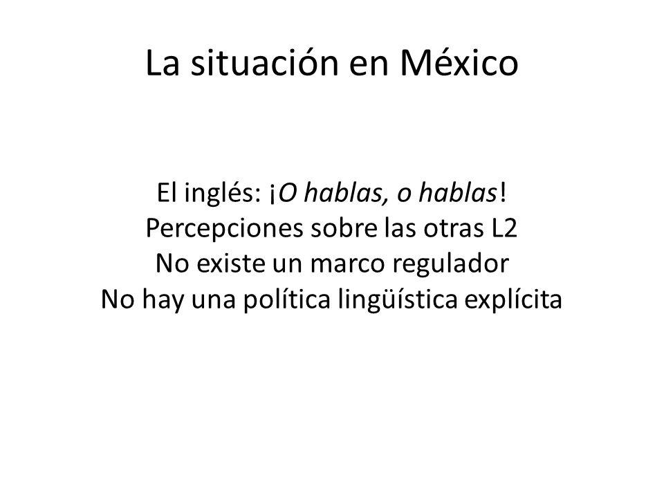 La situación en México
