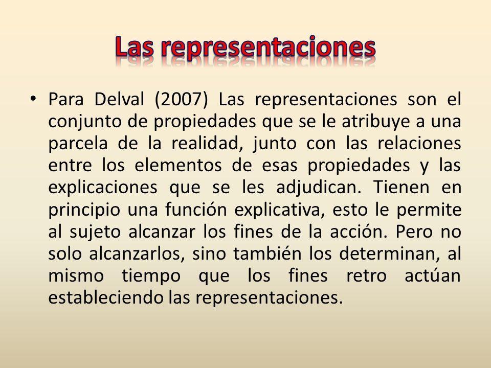 Las representaciones