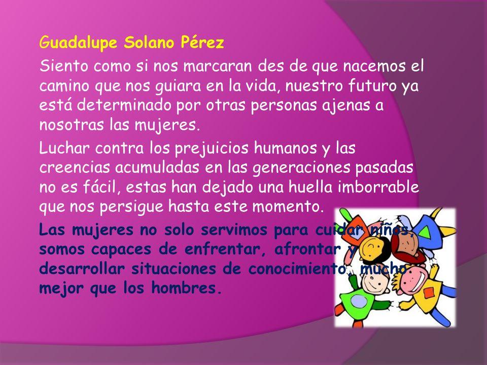 Guadalupe Solano Pérez