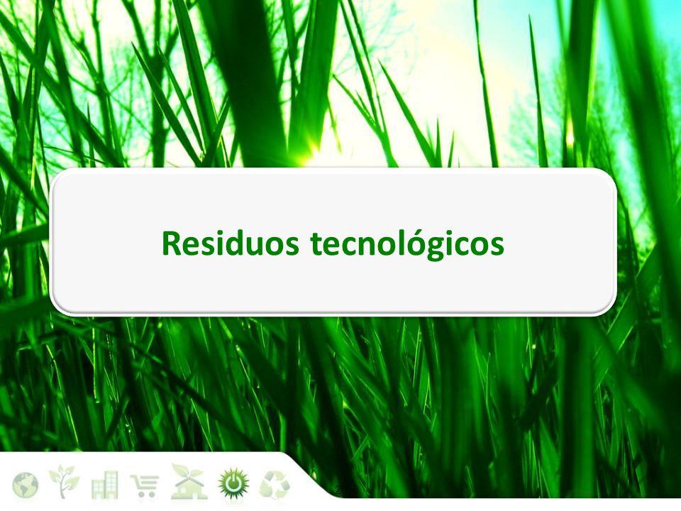 Residuos tecnológicos Situación medioambiental