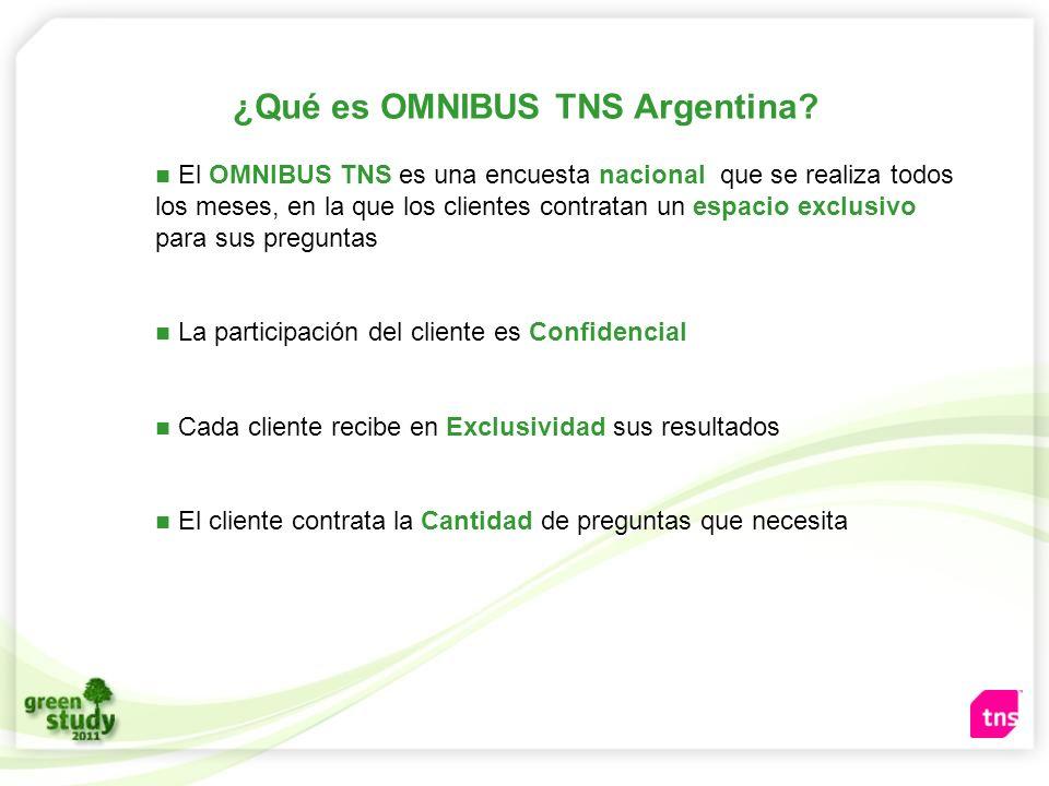 ¿Qué es OMNIBUS TNS Argentina
