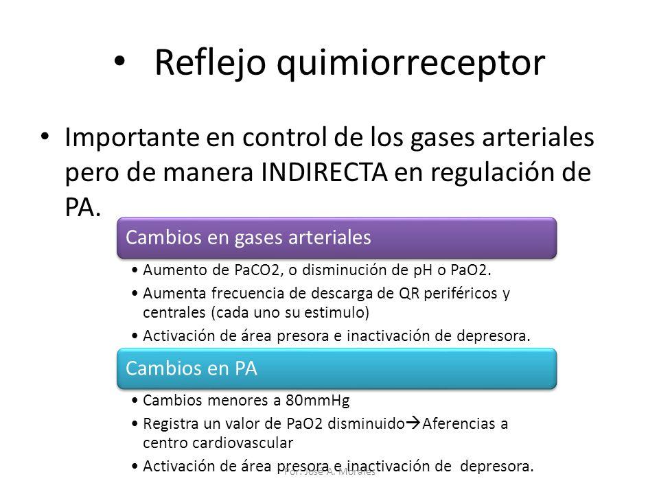 Reflejo quimiorreceptor