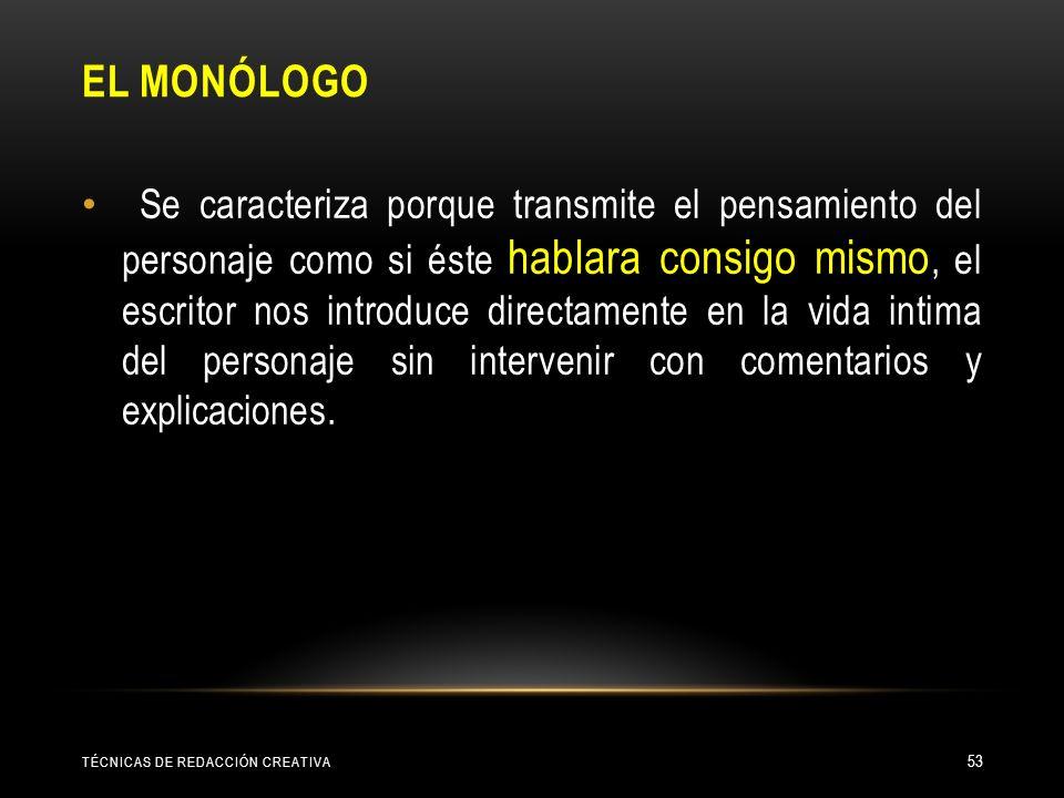 El monólogo