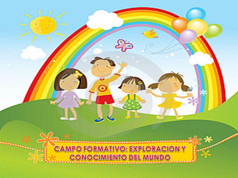 CAMPO FORMATIVO: EXPLORACION Y CONOCIMIENTO DEL MUNDO