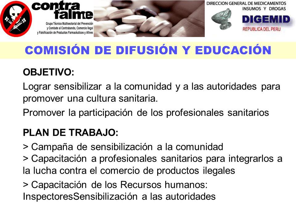COMISIÓN DE DIFUSIÓN Y EDUCACIÓN