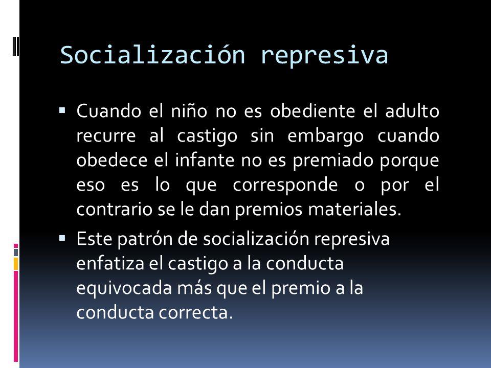 Socialización represiva