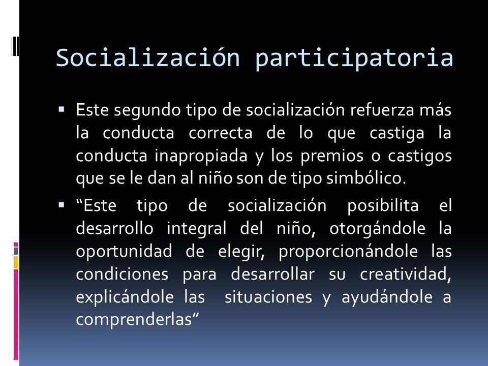 Socialización participatoria