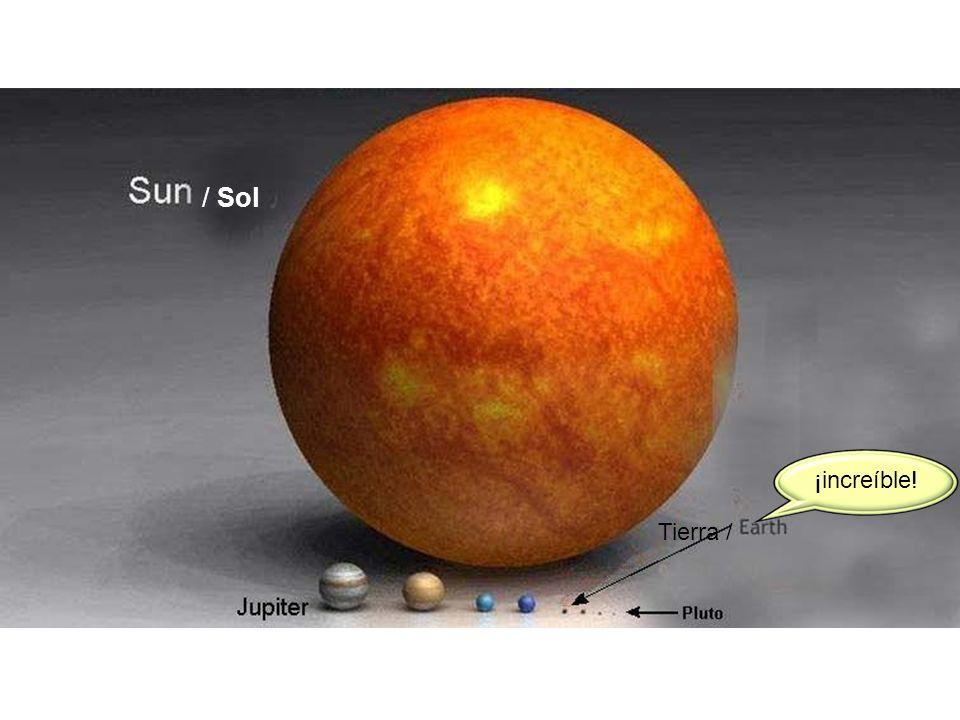 / Sol ¡increíble! Tierra /
