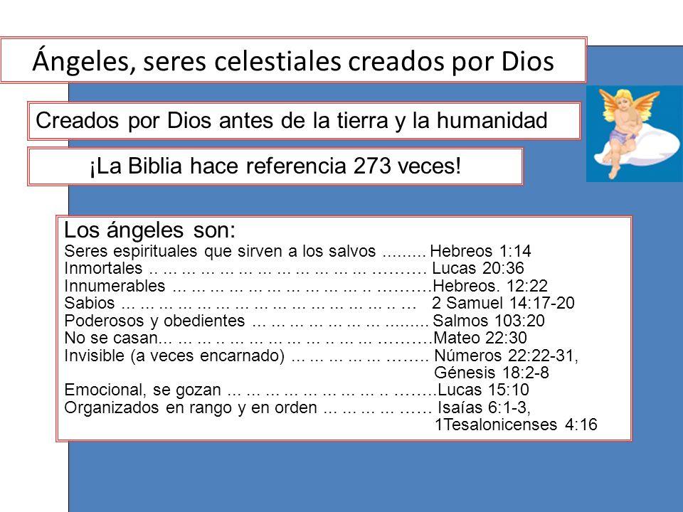 Ángeles, seres celestiales creados por Dios