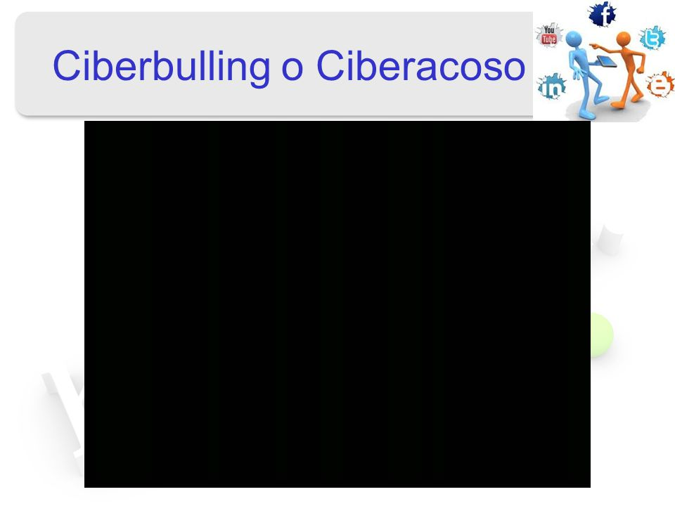 Ciberbulling o Ciberacoso