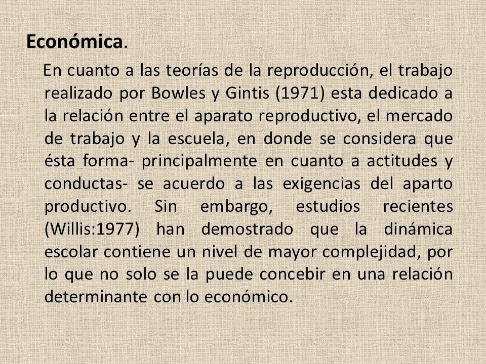 Económica.