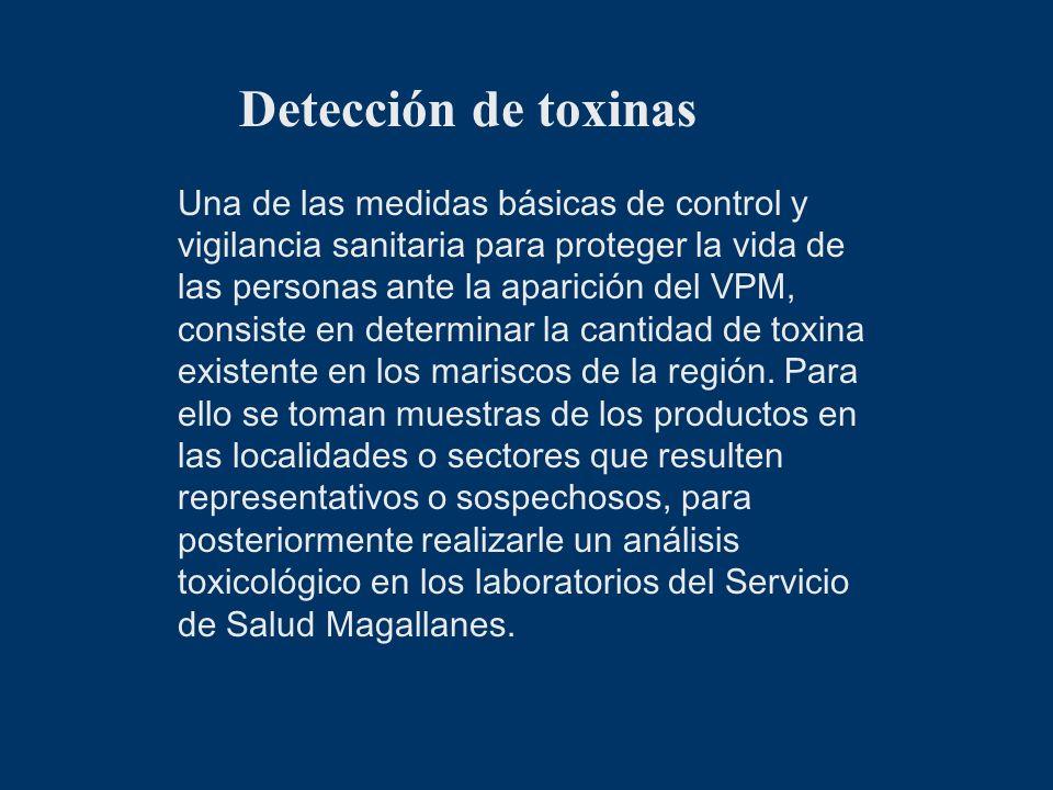 Detección de toxinas